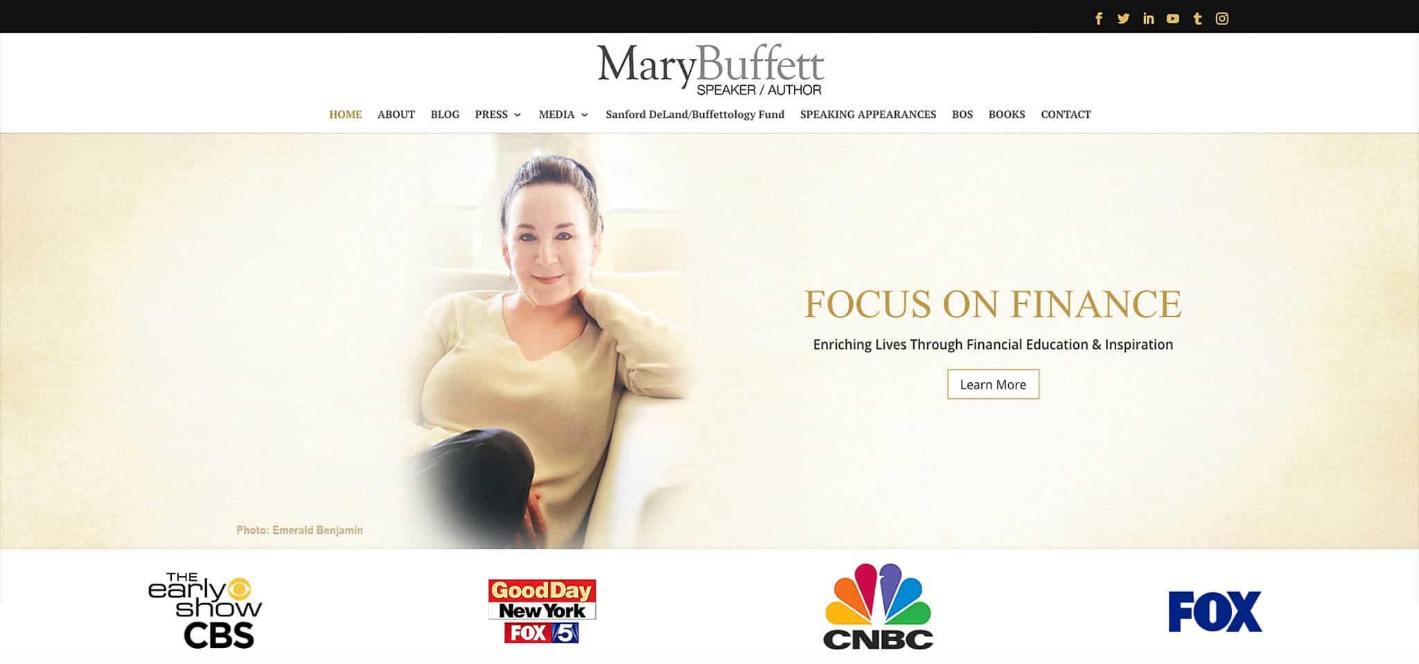 Mary Buffett worlds best selling author on Warren Buffett birkshire hathaway