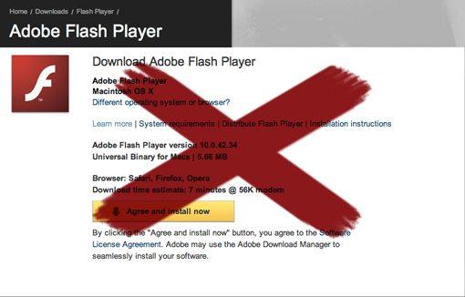 no-flash-adobe-bad-design