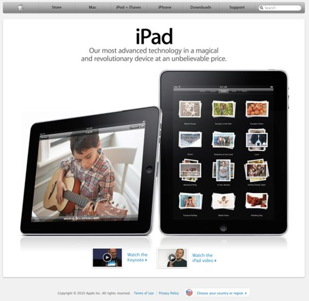 Picture Of An IPad by Apple